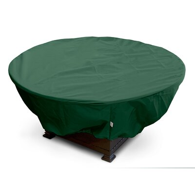 Weathermax Firepit Cover Size: 12 H x 32 W x 32 D, Color: Forest Green