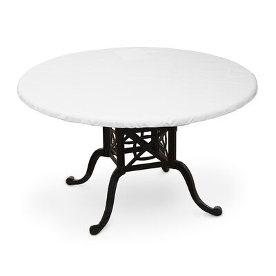 Weathermax� Oval Table Top Cover Color: White
