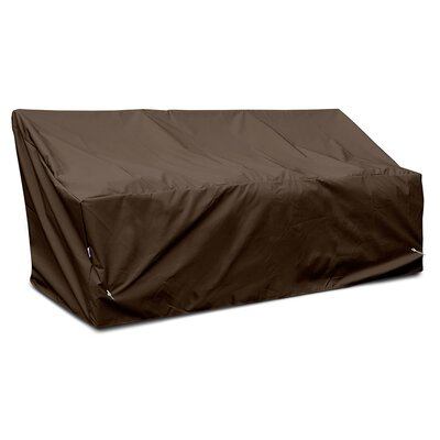 Weathermax Deep 3-Seat Glider / Lounge Cover Color: Chocolate