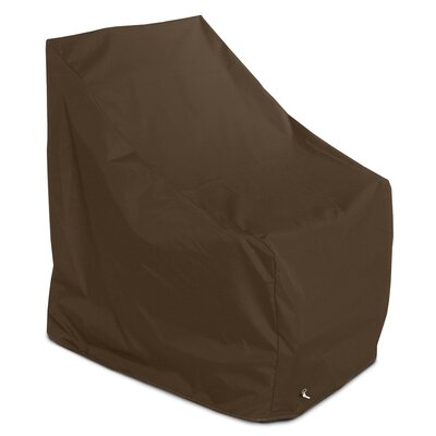 Weathermax� Adirondack Chair Cover Color: Chocolate