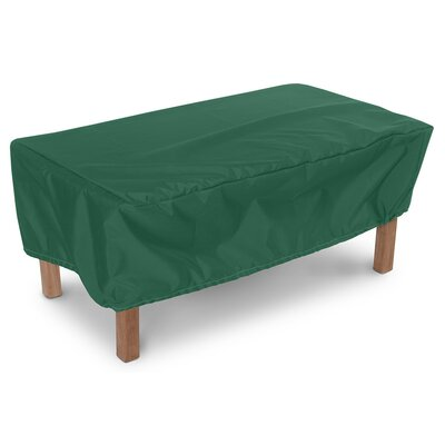 Weathermax Companion Table Cover Color: Forest Green