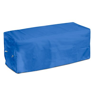 Weathermax Garden Seat Cover Size: 18 H x 63 W x 28 D, Color: Pacific Blue