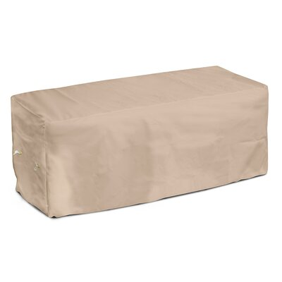 Weathermax Garden Seat Cover Size: 18 H x 51 W x 28 D, Color: Toast
