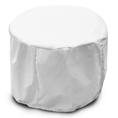 Weathermax Round Table Cover Color: White