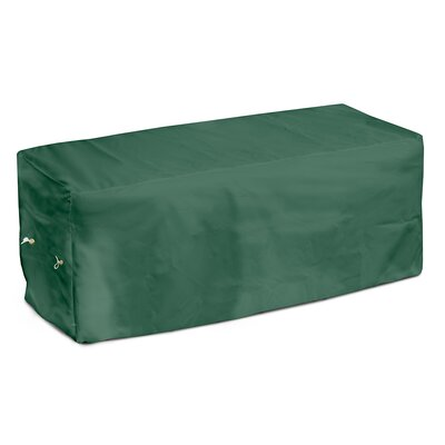 Weathermax Garden Seat Cover Size: 18 H x 51 W x 28 D, Color: Forest Green