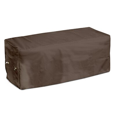 Weathermax Garden Seat Cover Size: 18 H x 51 W x 28 D, Color: Chocolate