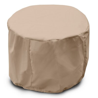 Weathermax Round Table Cover Color: Toast