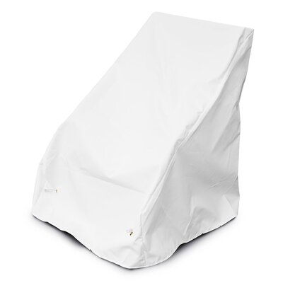 Weathermax Chair Cover Color: White