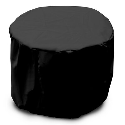 Weathermax Round Table Cover Color: Black