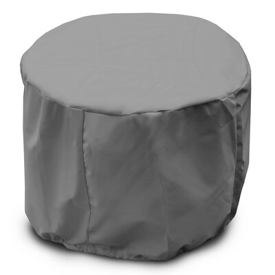 Weathermax Round Table Cover Color: Grey