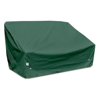 Weathermax� Deep Highback Loveseat/Sofa Cover Color: Forest Green