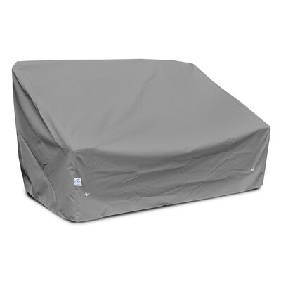 Weathermax Deep 2-Seat Sofa Cover Size: 32 H x 58 W x 35 D, Color: Grey