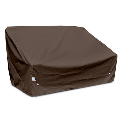 Weathermax Deep 2-Seat Sofa Cover Size: 32 H x 61 W x 36 D, Color: Chocolate