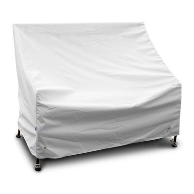 Weathermax� Highback Loveseat/Sofa Cover Color: White