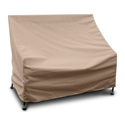 Weathermax� Highback Loveseat/Sofa Cover Color: Toast