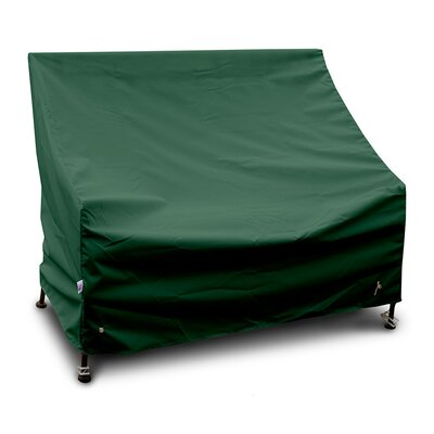Weathermax Bench/Glider Cover Size: 36 H x 96 W x 25 D, Color: Forest Green