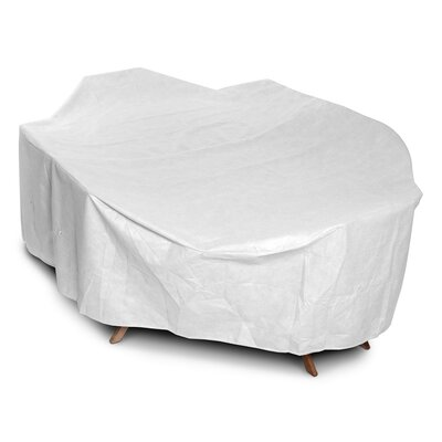 DuPont Tyvek Rectangular Dining Set Cover Size: 28 H x 82 W x 108 D