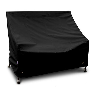 Weathermax� Highback Loveseat/Sofa Cover Color: Black
