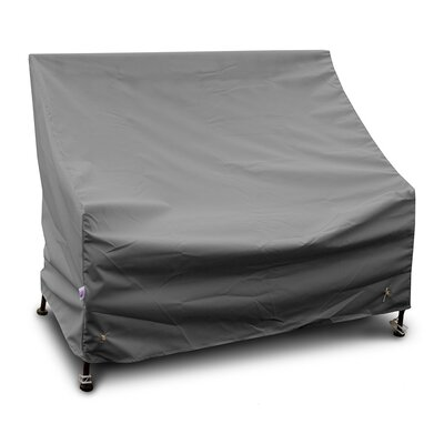 Weathermax Bench/Glider Cover Size: 37 H x 63 W x 28 D, Color: Grey