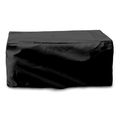 Weathermax� Cushion Storage Chest Cover Color: Black