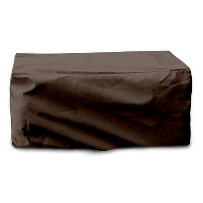Weathermax Cushion Storage Chest Cover Color: Chocolate