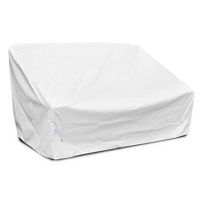 Weathermax� Deep Highback Loveseat/Sofa Cover Color: White