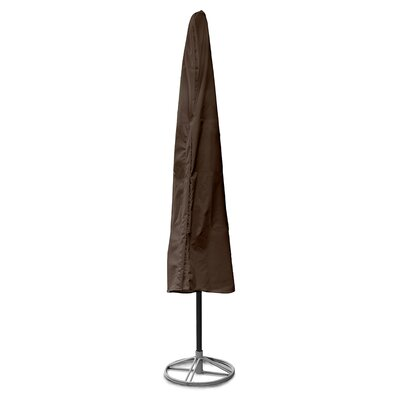 Weathermax Umbrella Cover Size: 76 H x 48 W x 48 D, Color: Chocolate
