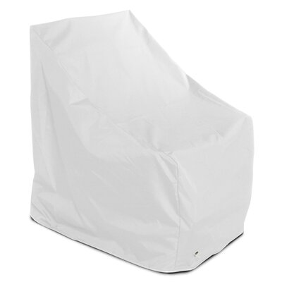 Weathermax Adirondack Chair Cover Color: White