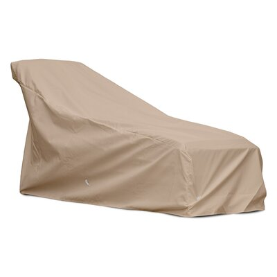 Weathermax Chaise Cover Size: 35 H x 31 W x 80 D, Color: Toast