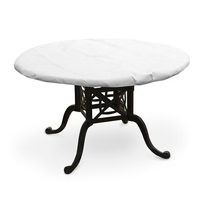 DuPont� Tyvek� Round Table Top Cover Size: 54 W x 54 D