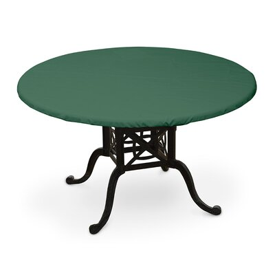 Weathermax� Round Table Top Cover Color: Forest Green