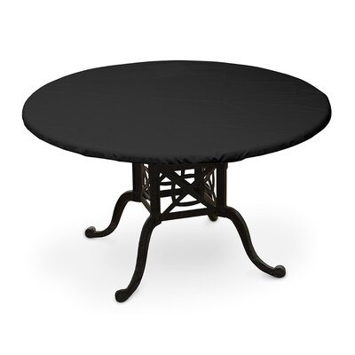 Weathermax� Round Table Top Cover Color: Black