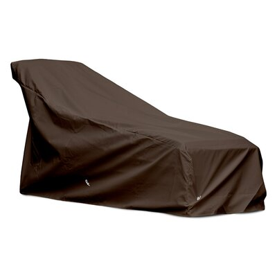 Weathermax Chaise Cover Size: 32 H x 30 W x 82 D, Color: Chocolate
