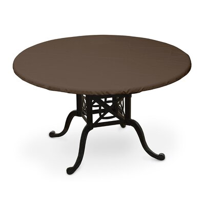 Weathermax� Oval Table Top Cover Color: Chocolate