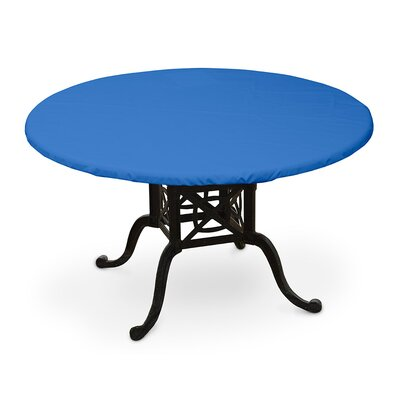 Weathermax Oval Table Top Cover Color: Pacific Blue