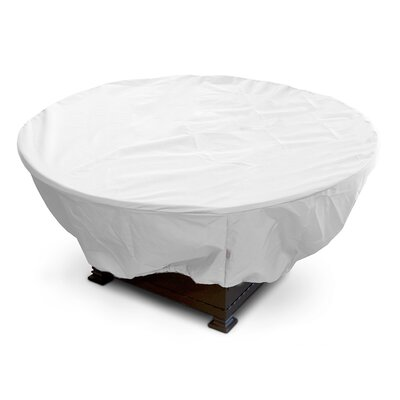 Weathermax Firepit Cover Color: White, Size: 12 H x 32 W x 32 D
