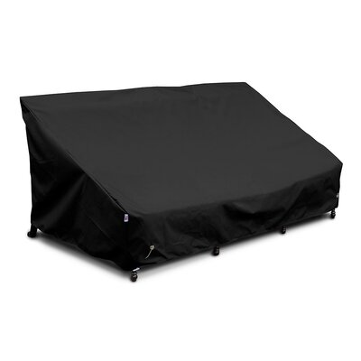 Weathermax� Sofa Cover Color: Black