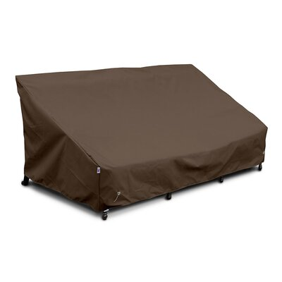 Weathermax� Sofa Cover Color: Chocolate