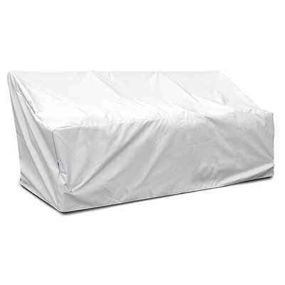 Weathermax� Deep 3-Seat Glider / Lounge Cover Color: White