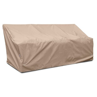 Weathermax� Deep 3-Seat Glider / Lounge Cover Color: Toast