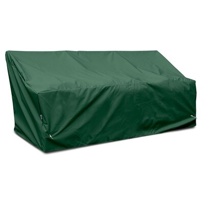 Weathermax� Deep 3-Seat Glider / Lounge Cover Color: Forest Green