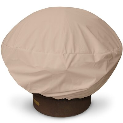 Weathermax Firepit Cover Size: 16 H x 35 W x 35 D, Color: Toast
