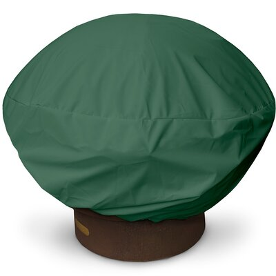 Weathermax Firepit Cover Size: 16 H x 35 W x 35 D, Color: Forest Green