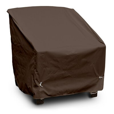 Weathermax� Deep Seating High Back Chair Cover Color: Chocolate