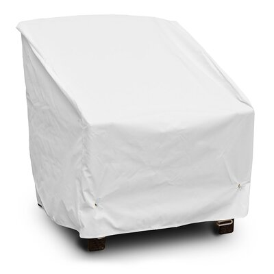 Weathermax Deep Seating High-Back Lounge Chair Cover Color: White