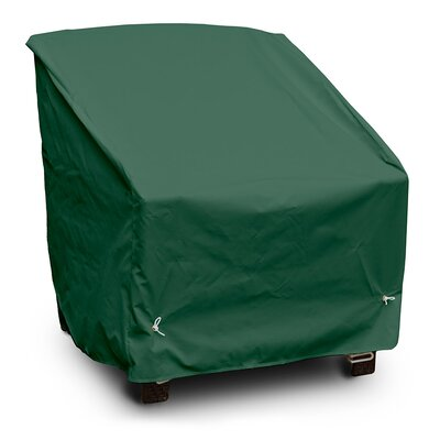 Weathermax� Deep Seating High-Back Lounge Chair Cover Color: Forest Green