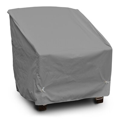 Weathermax Deep Seating Dining Chair Cover Size: 33 H x 32 W x 32 D, Color: Grey