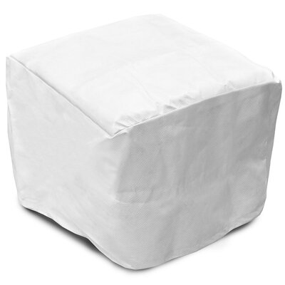 SupraRoos Square Ottoman / Small Table Cover Size: 18 H x 41 W x 41 D