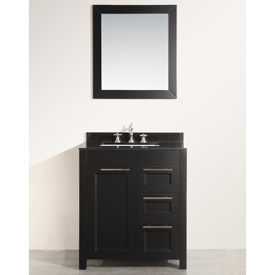 37 Single Bathroom Vanity Set with Mirror