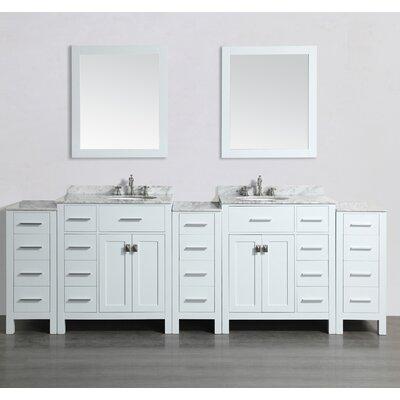 100 Double Bathroom Vanity Set with Mirror